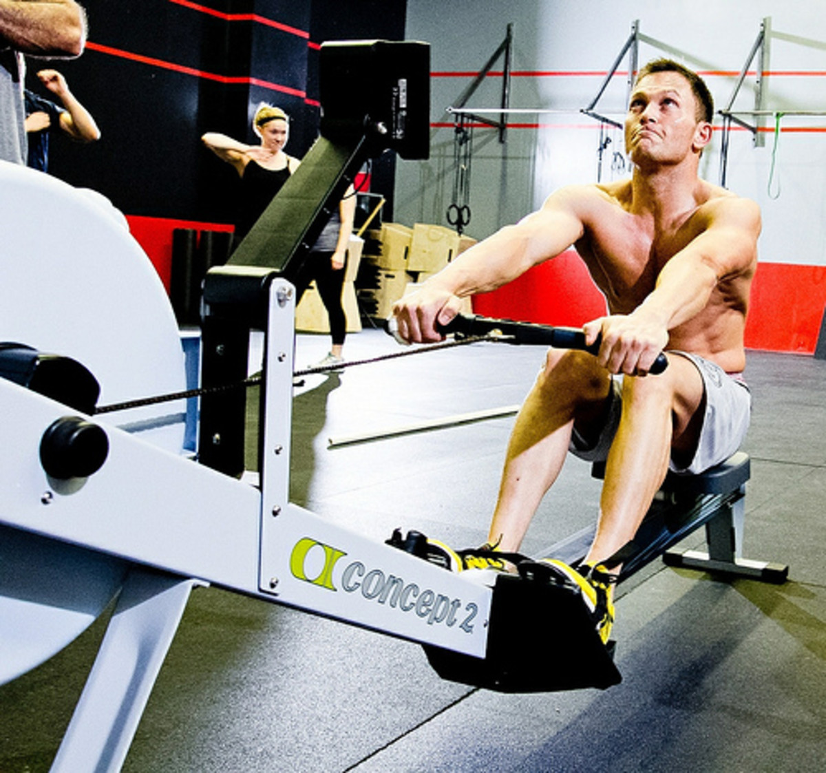 Rowing machines have many workout benefits