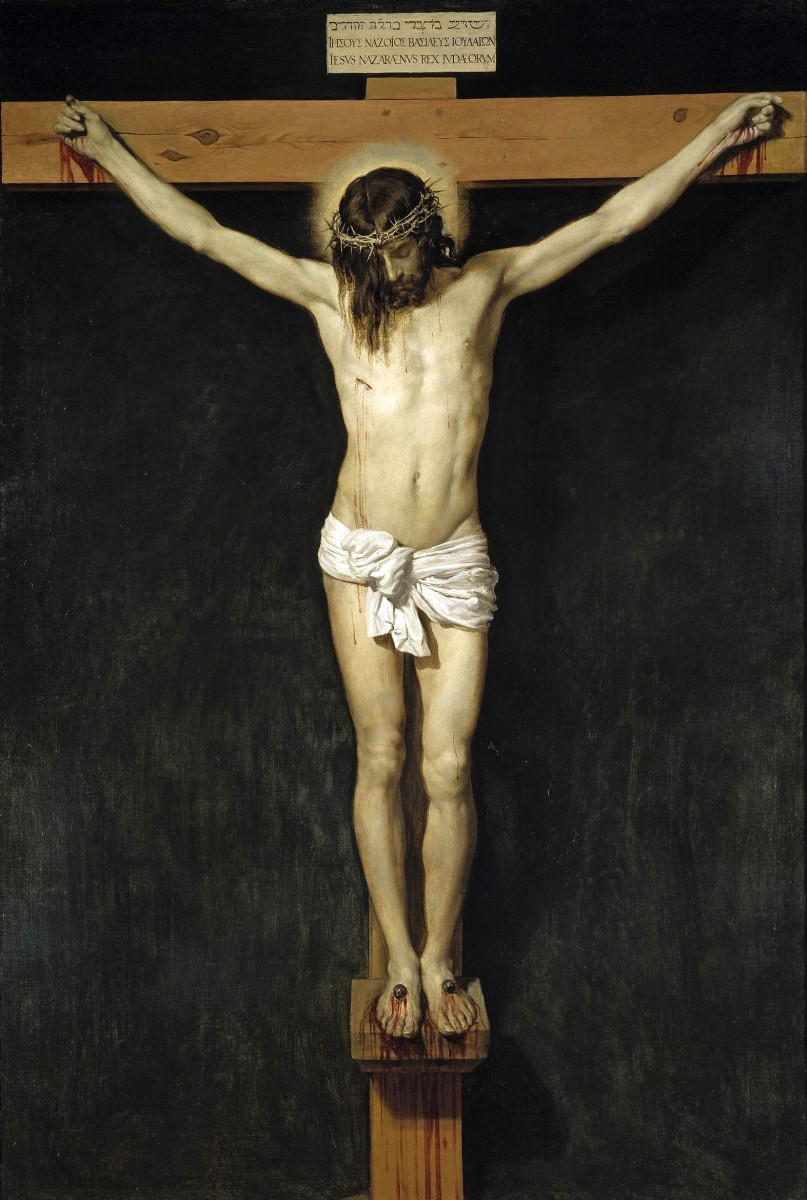 """CHRIST CRUCIFIED"" PAINTED BY VELAZQUEZ IN 1632"