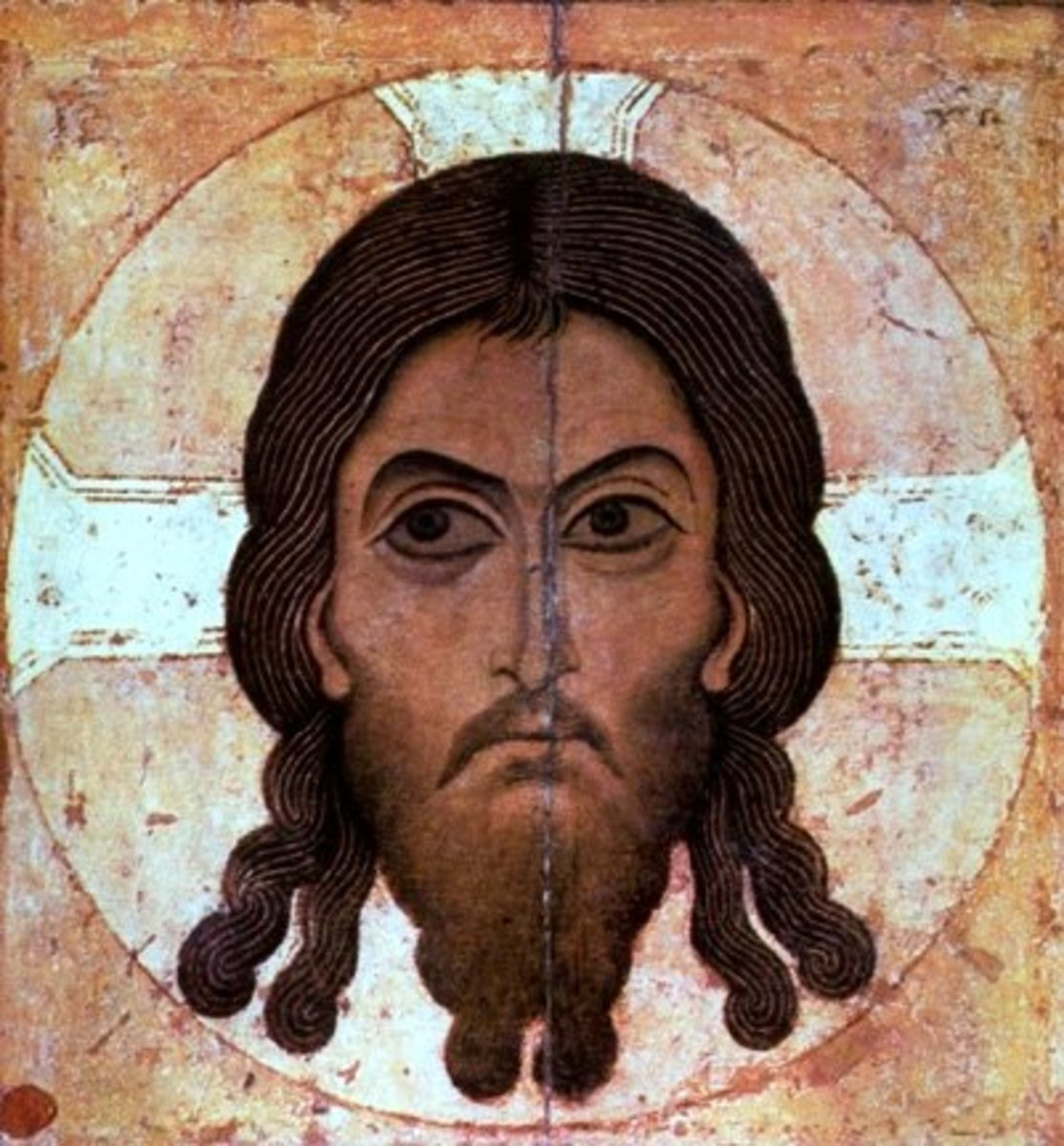 JAMES (FROM A CHURCH IN NOVGOROD RUSSIA)