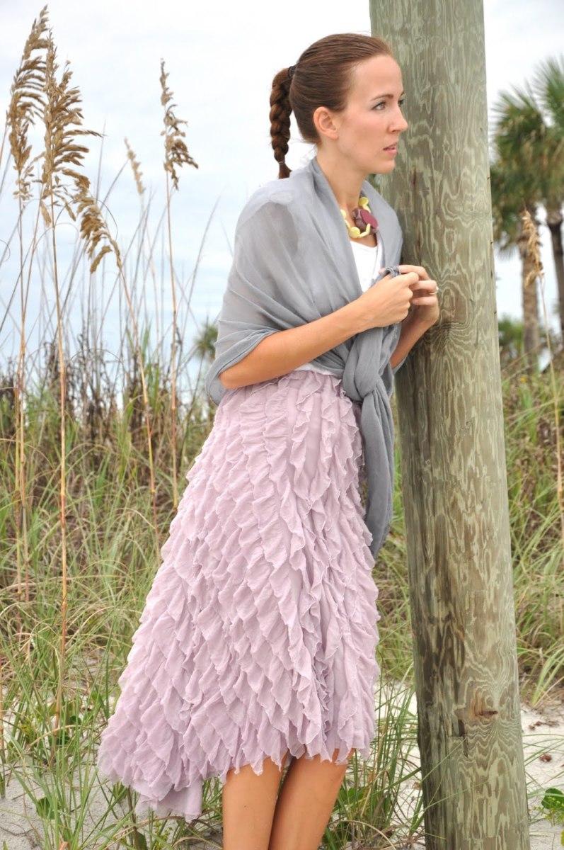 Coastal Curtsy Ruffle Skirt Tutorial