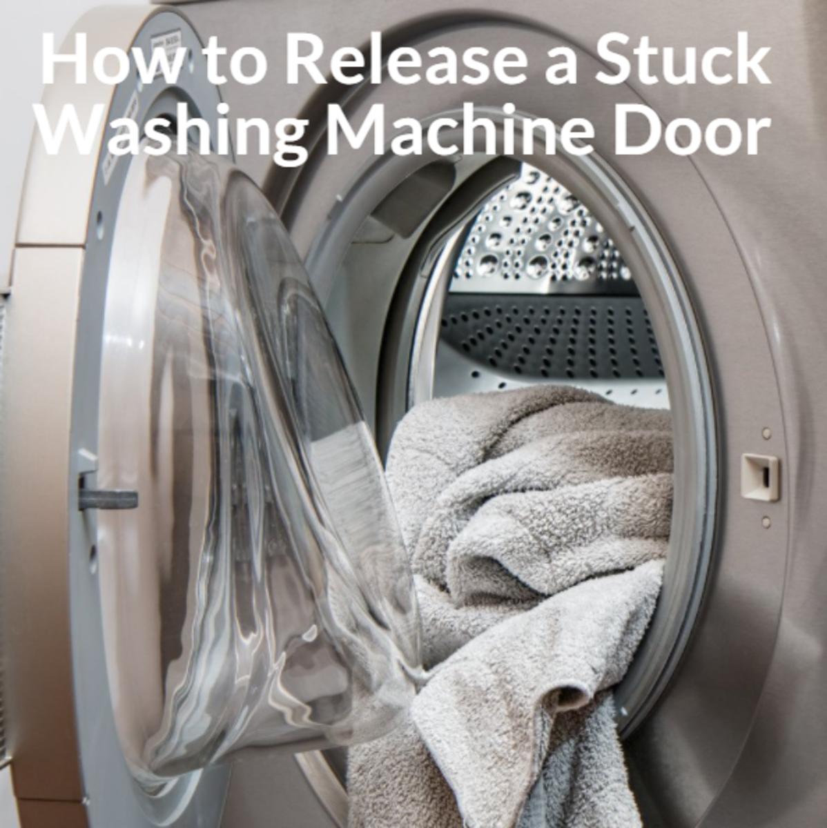 how-to-release-a-stuck-washing-machine-door