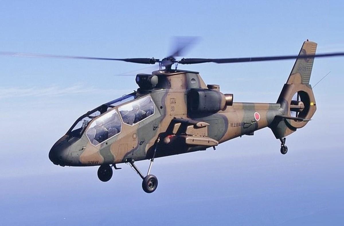 The OH-1 Ninja: probably Japan's best unit.