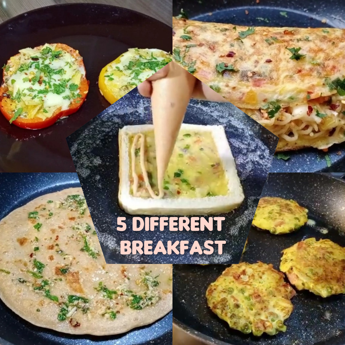 5-different-healthy-breakfast-10-minute-ready-homemade-recipes