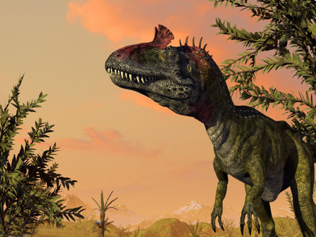 Graphical image of Cryolophosaurus