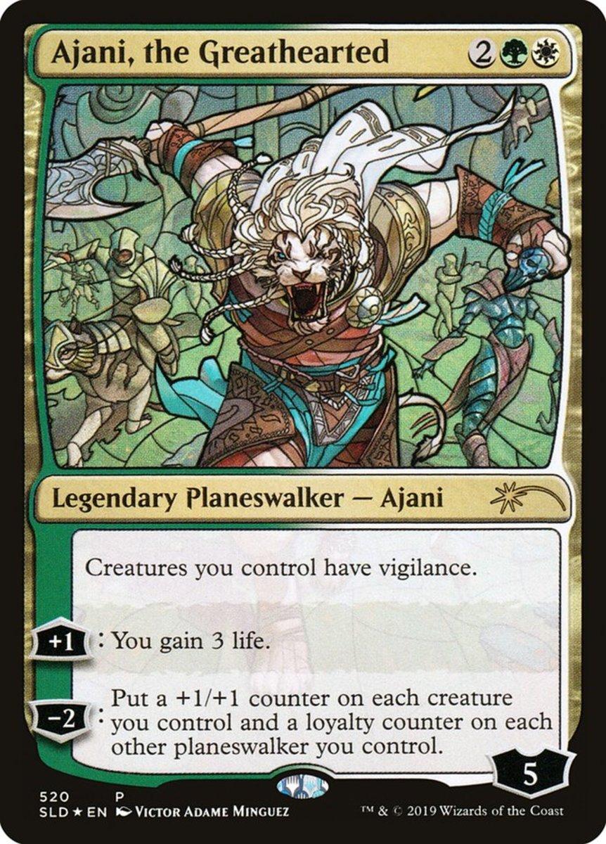 Ajani, the Greathearted mtg