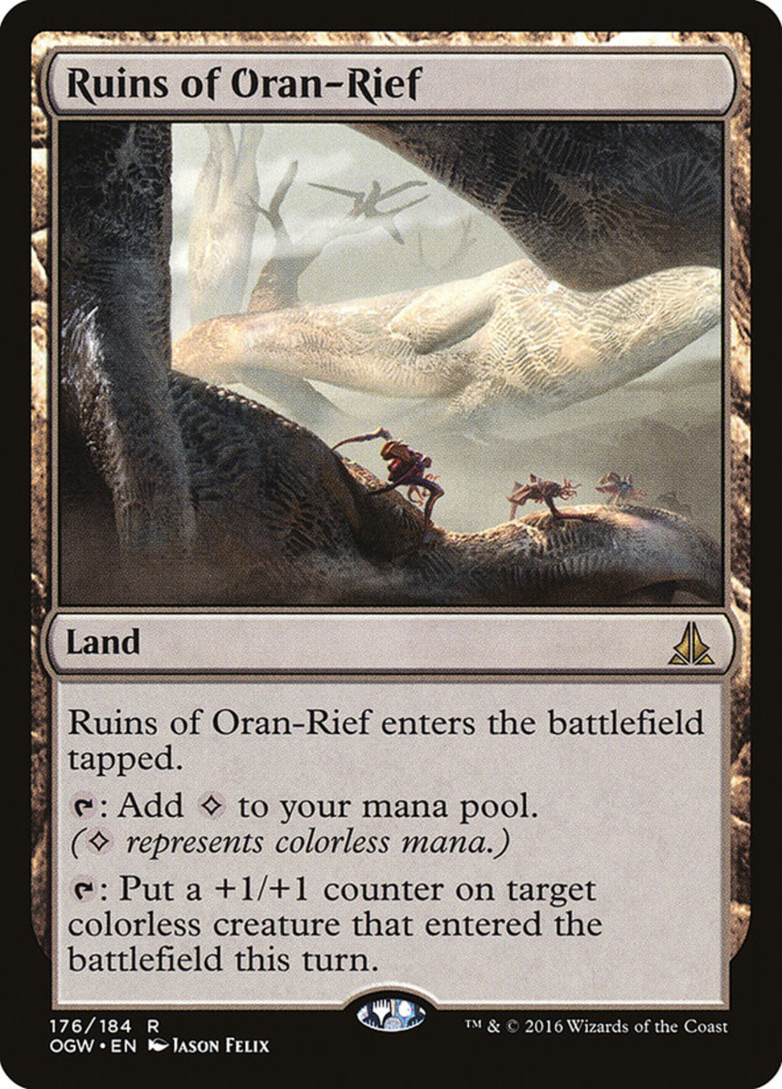 Ruins of Oran-Rief mtg