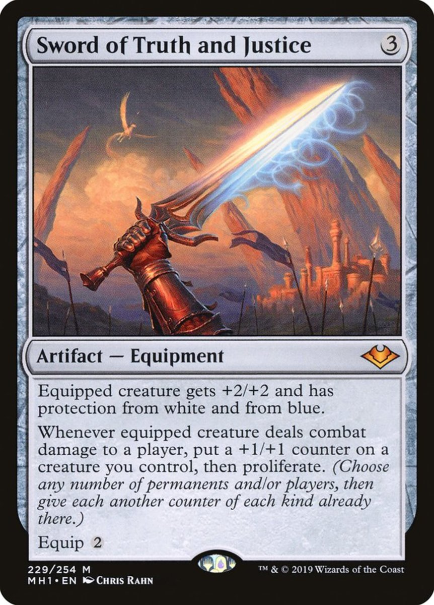 Sword of Truth and Justice mtg