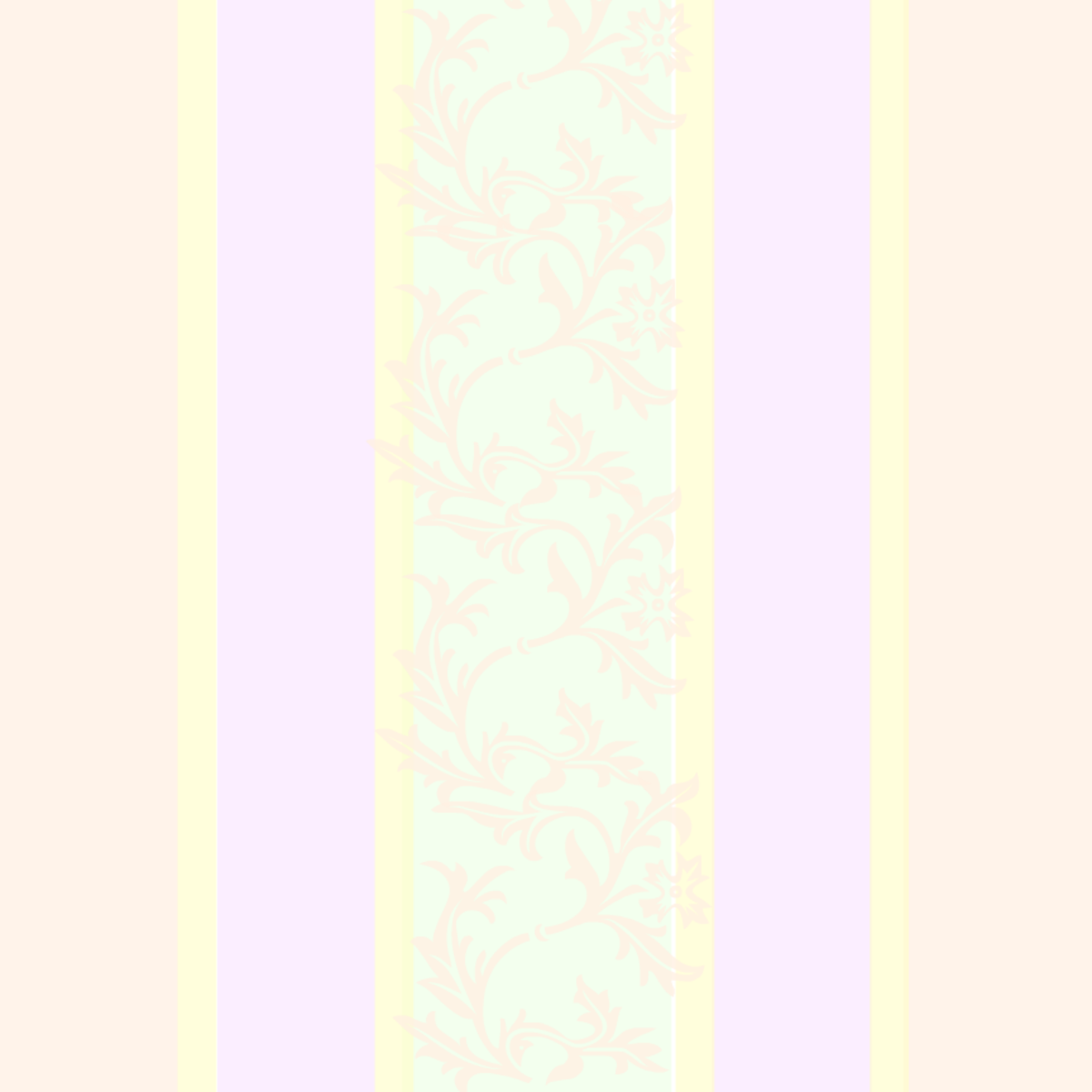 Scrapbook embellishments: pastel striped scrapbook background with subtle scrollwork design