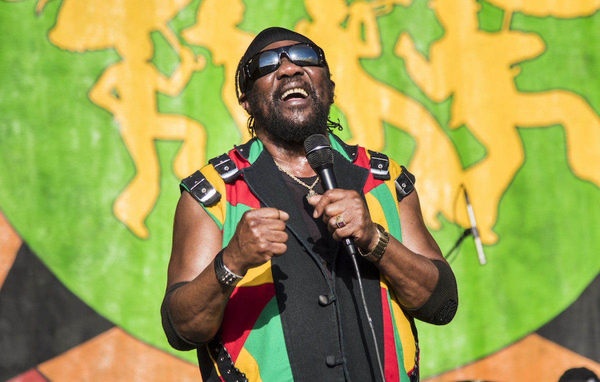 Toots Hibbert performing in New Orleans, 2018