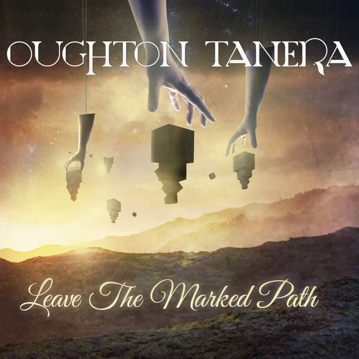 "Album cover of ""Leave The Marked Path"" designed by Michael Stegh."