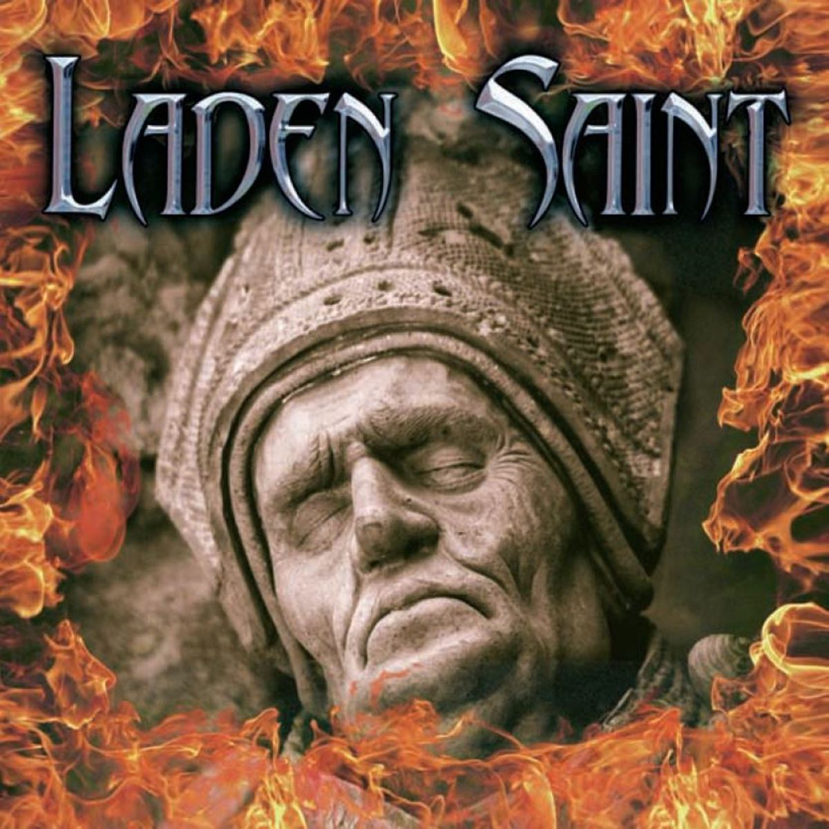 """Laden Saint"" CD cover"