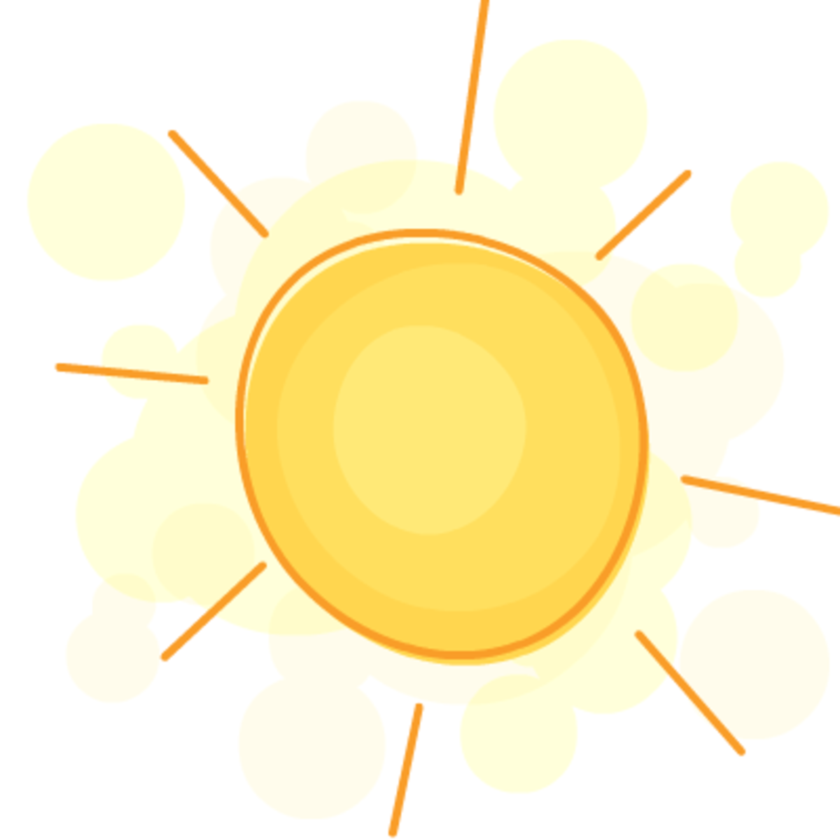 Free summer sun clip art
