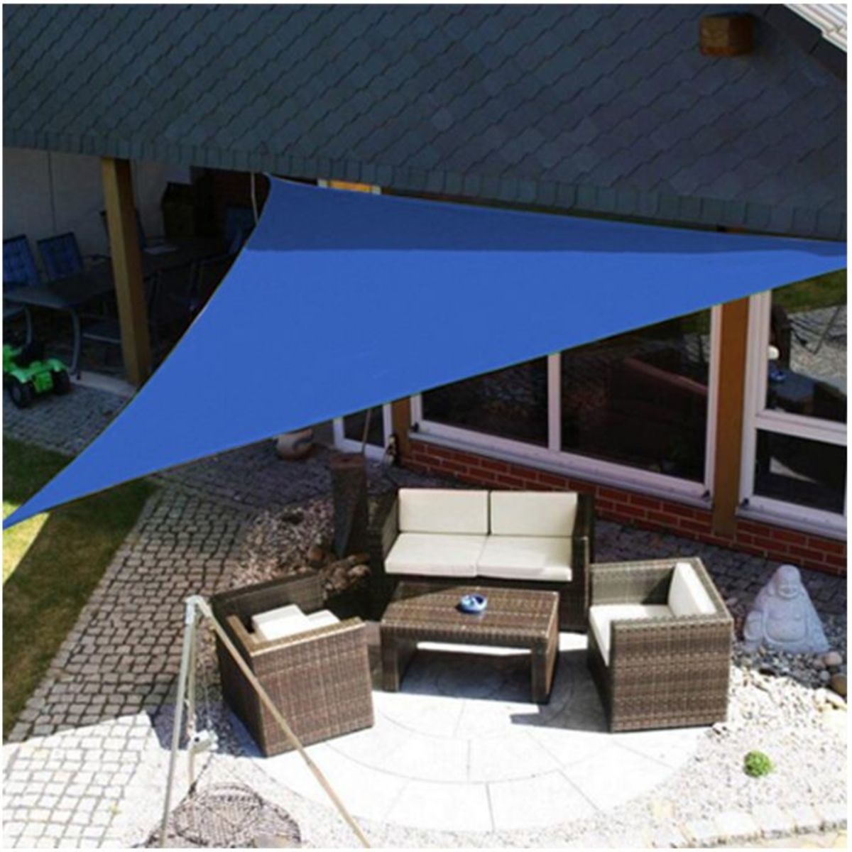Patio shade sails is sunlight UV, they also add a modern and beautiful design element to your yard.