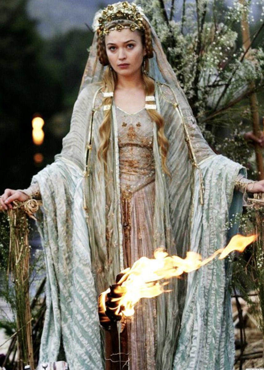 Isolde (Sophia Myles) from Tristan and Isolde