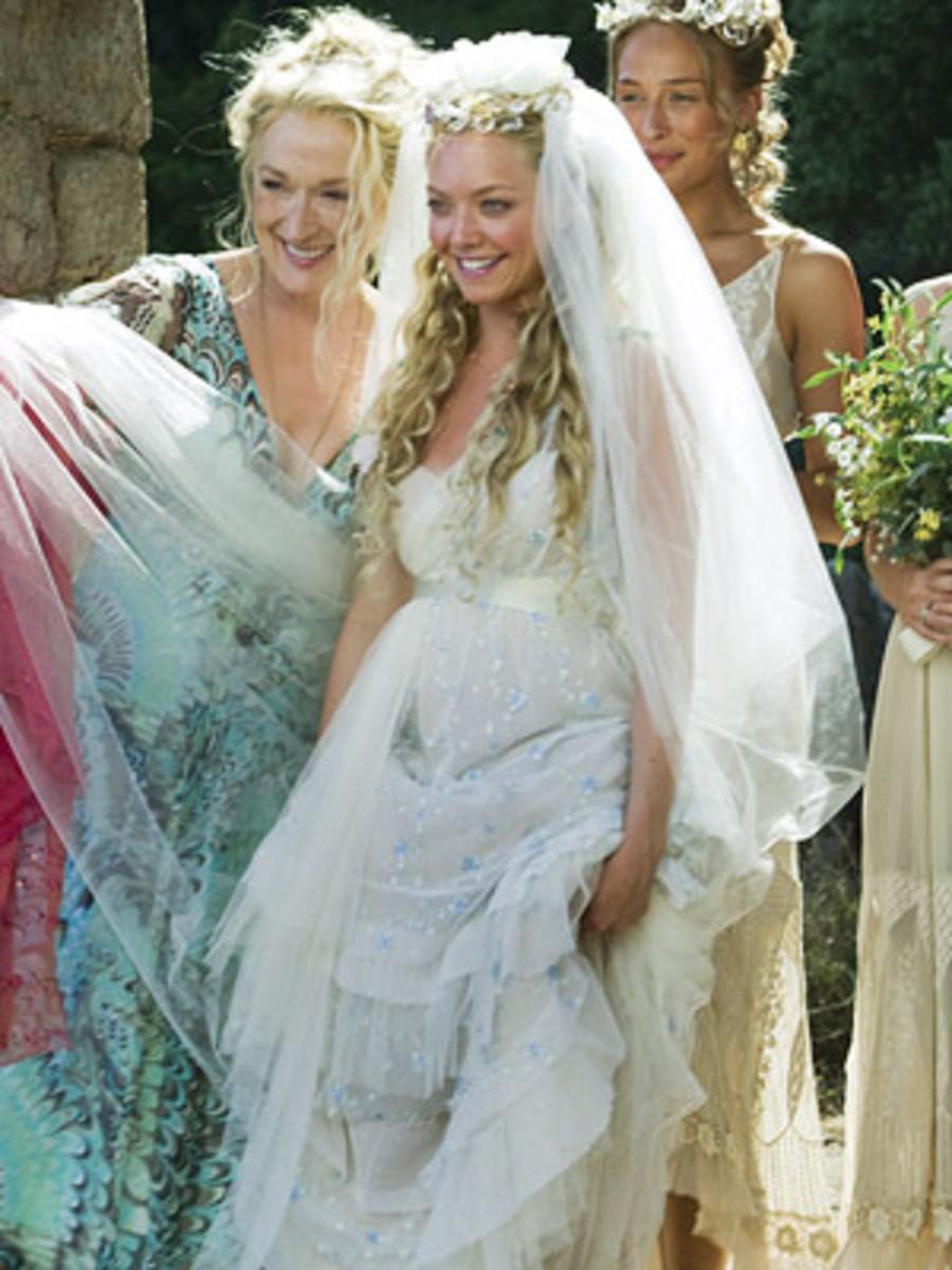 Sophie (Amanda Seyfried) from  Mamma Mia