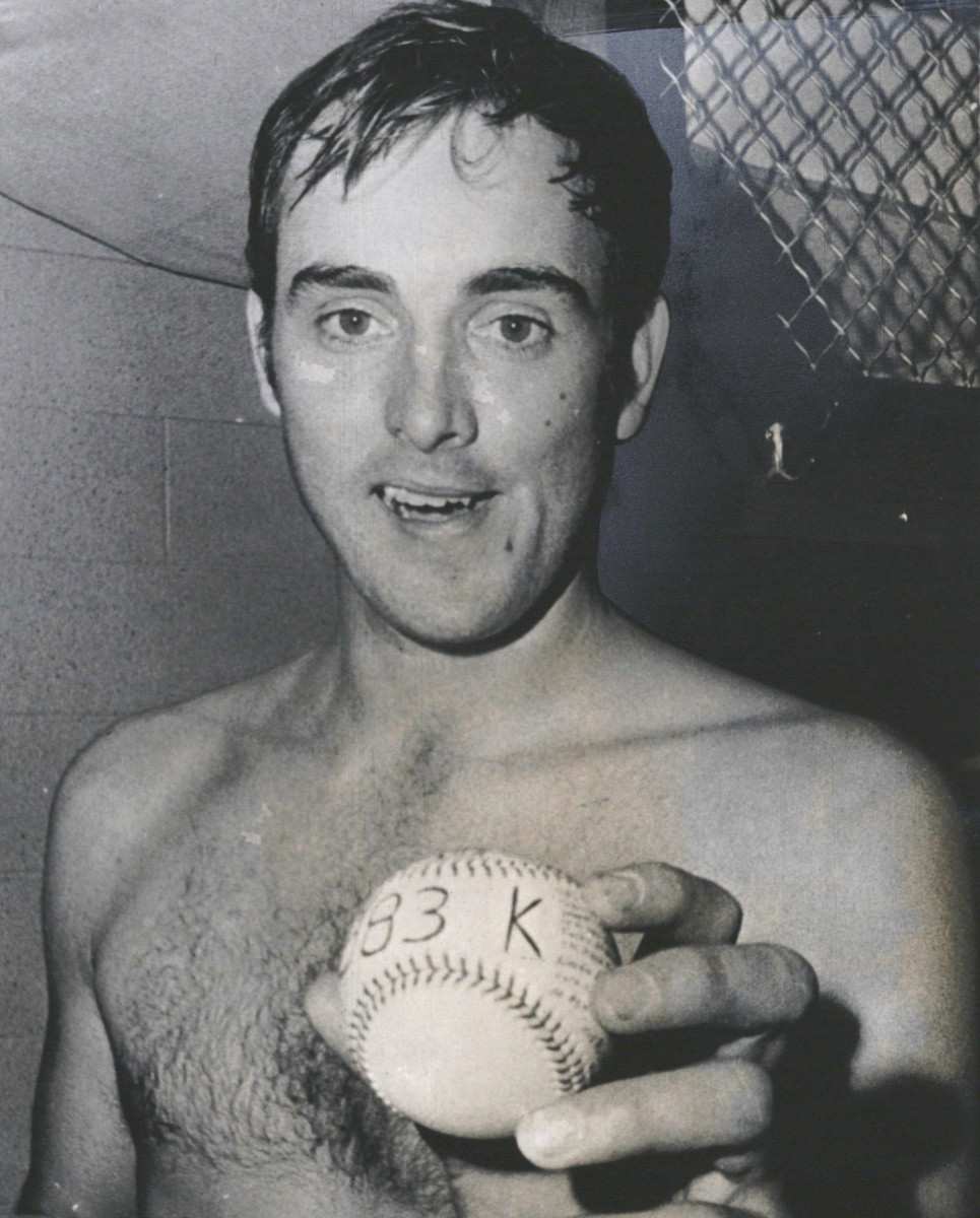 Nolan Ryan is one of two Angels pitchers ever to throw an immaculate inning.