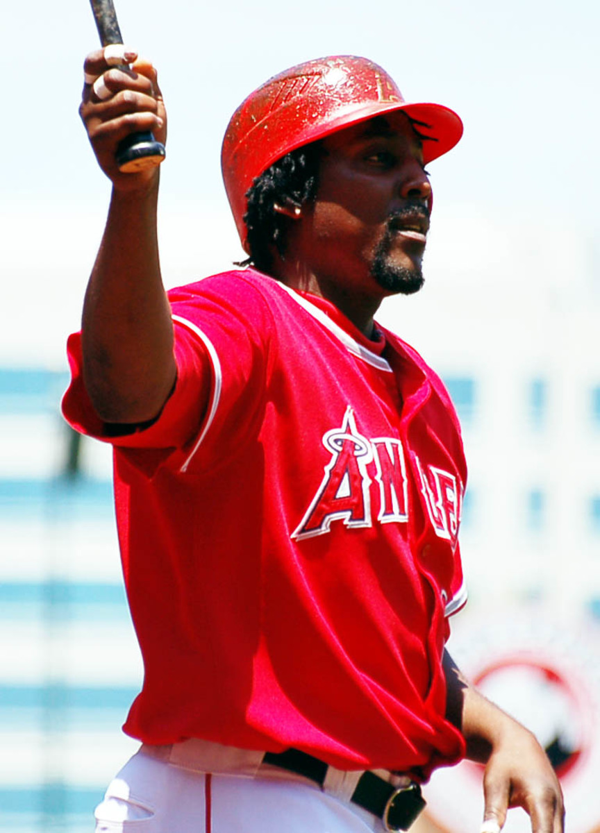 Vladimir Guerrero was the first player in Angels history to hit 25 home runs in five straight seasons.