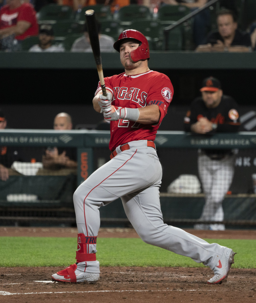 Mike Trout signed a $426.5 million contract to remain with the Angels through 2030.