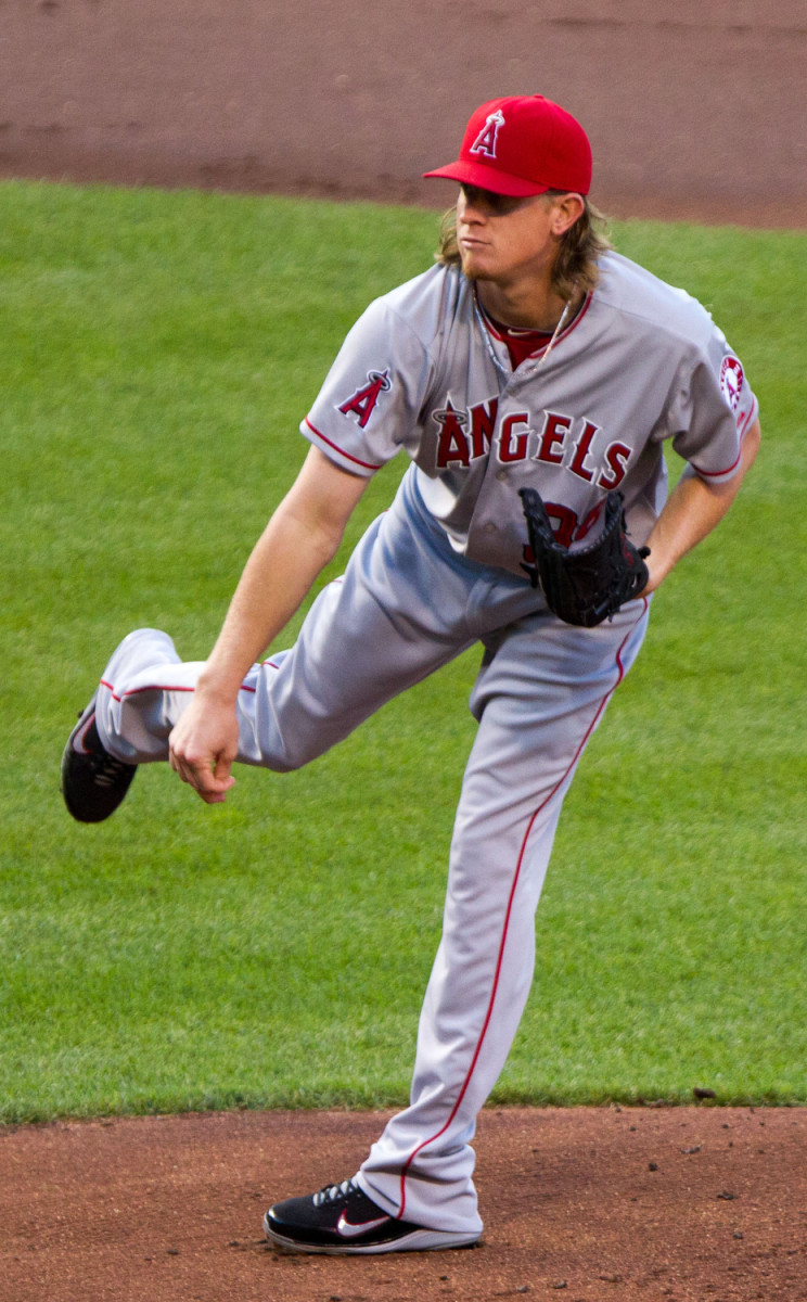 With 150 career victories, Jered Weaver is second in team history.
