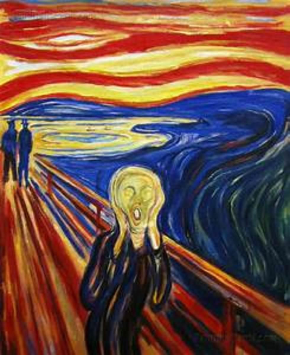 The silent scream of helplessness