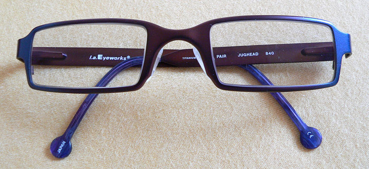 Eyeglasses come in all styles, colors and sizes.  Reading glasses are no exception.