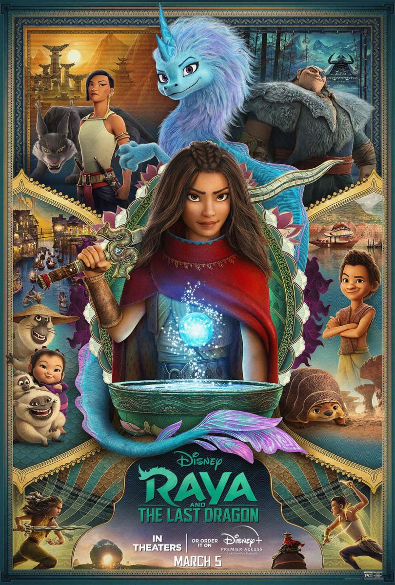"""Raya & the Last Dragon"" Poster"