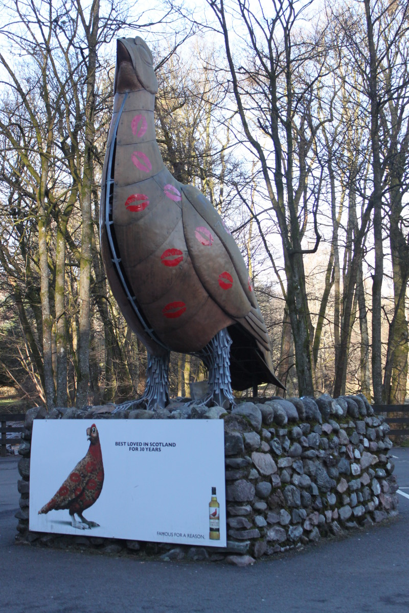 The Entrance at The Famous Grouse Experience, Crieff. The home of the visitor centre for Scotland's Favourite Whisky