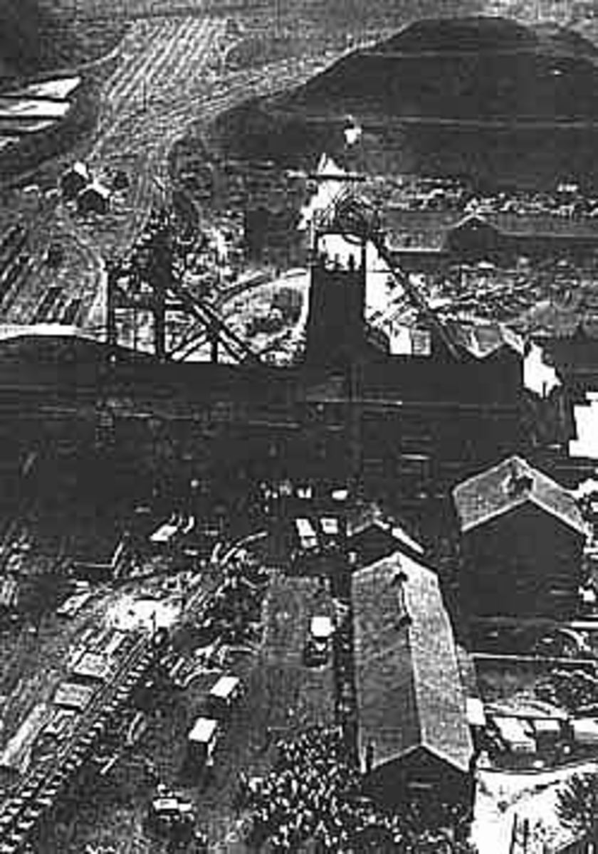 Wales, Welsh Coal Mining, A thriving industry of the past