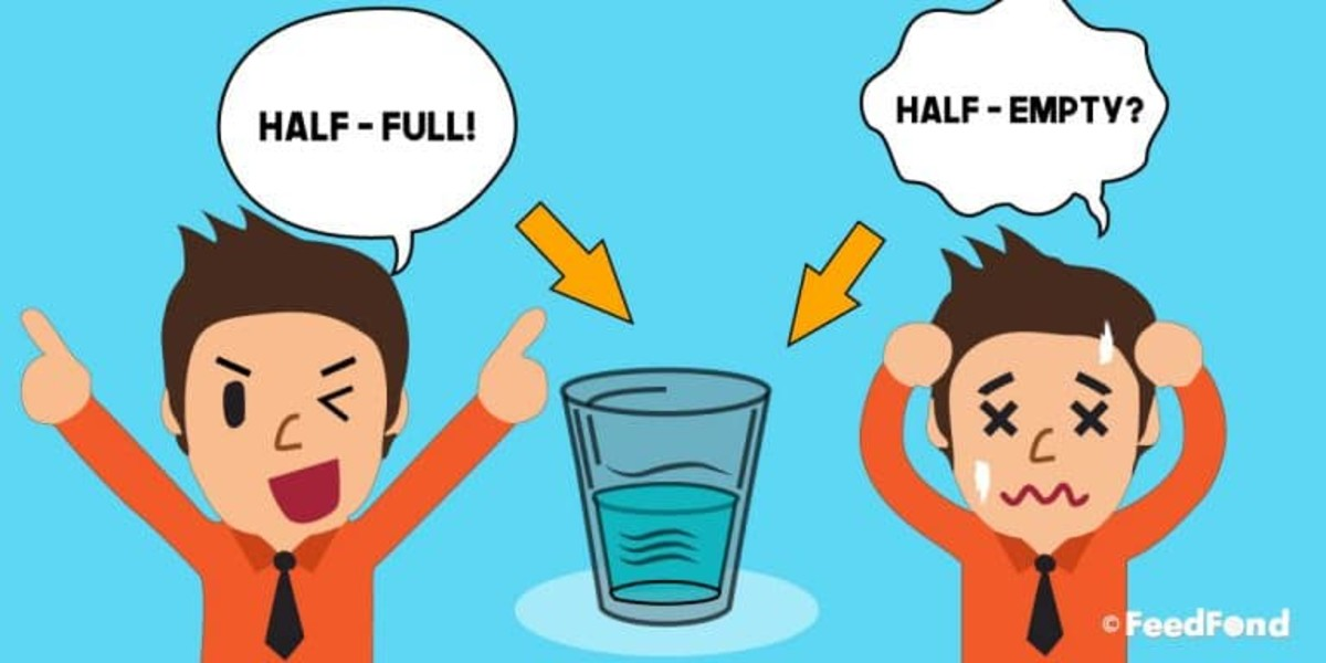 Do you see the world from the half empty or half full perspective?