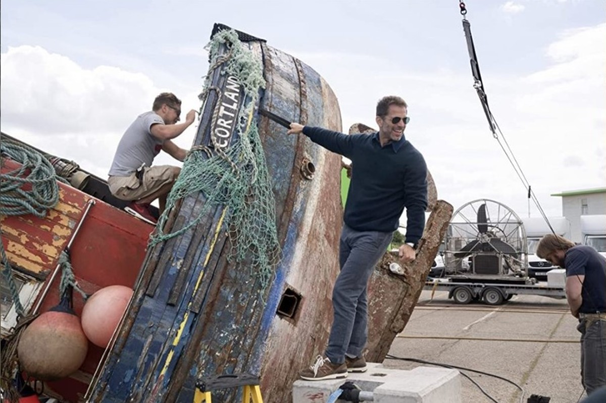 Zack Snyder on a boat... I'd watch that movie.