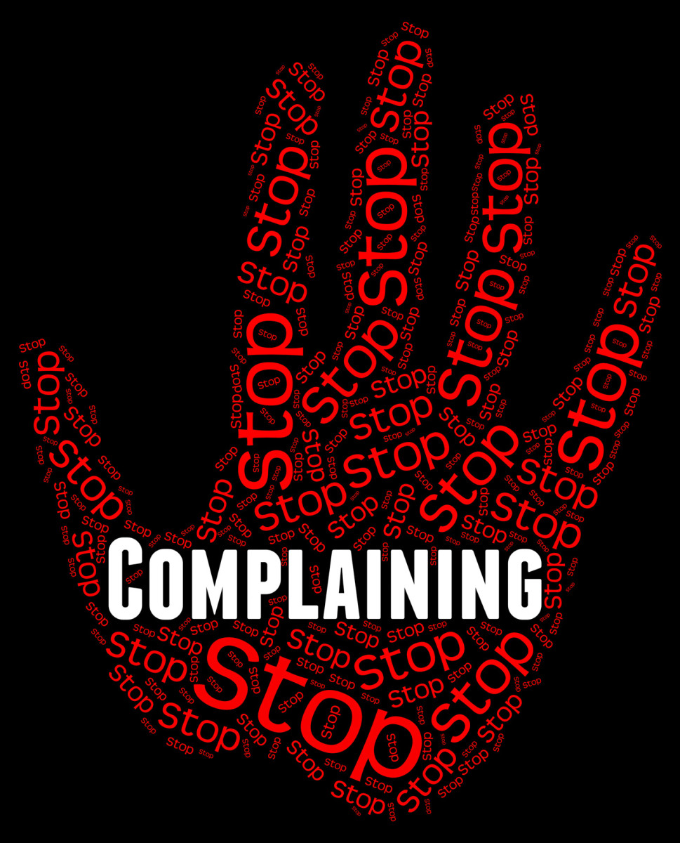Change Your Mindset Series: Stop Complaining