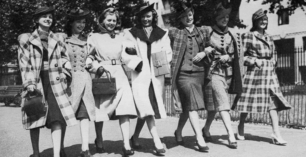 Even the girls in the 1940's looked great.