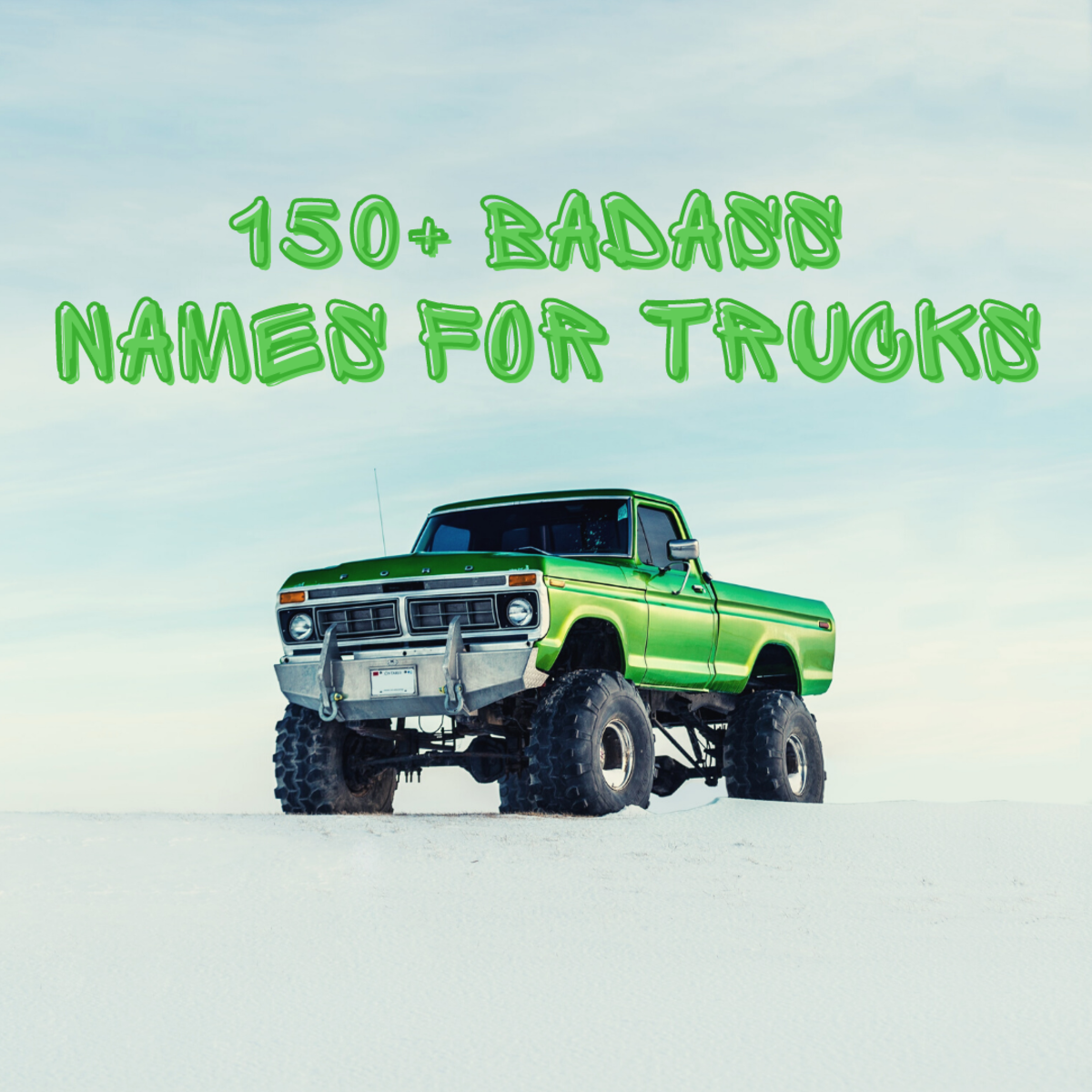 150+ cool truck names
