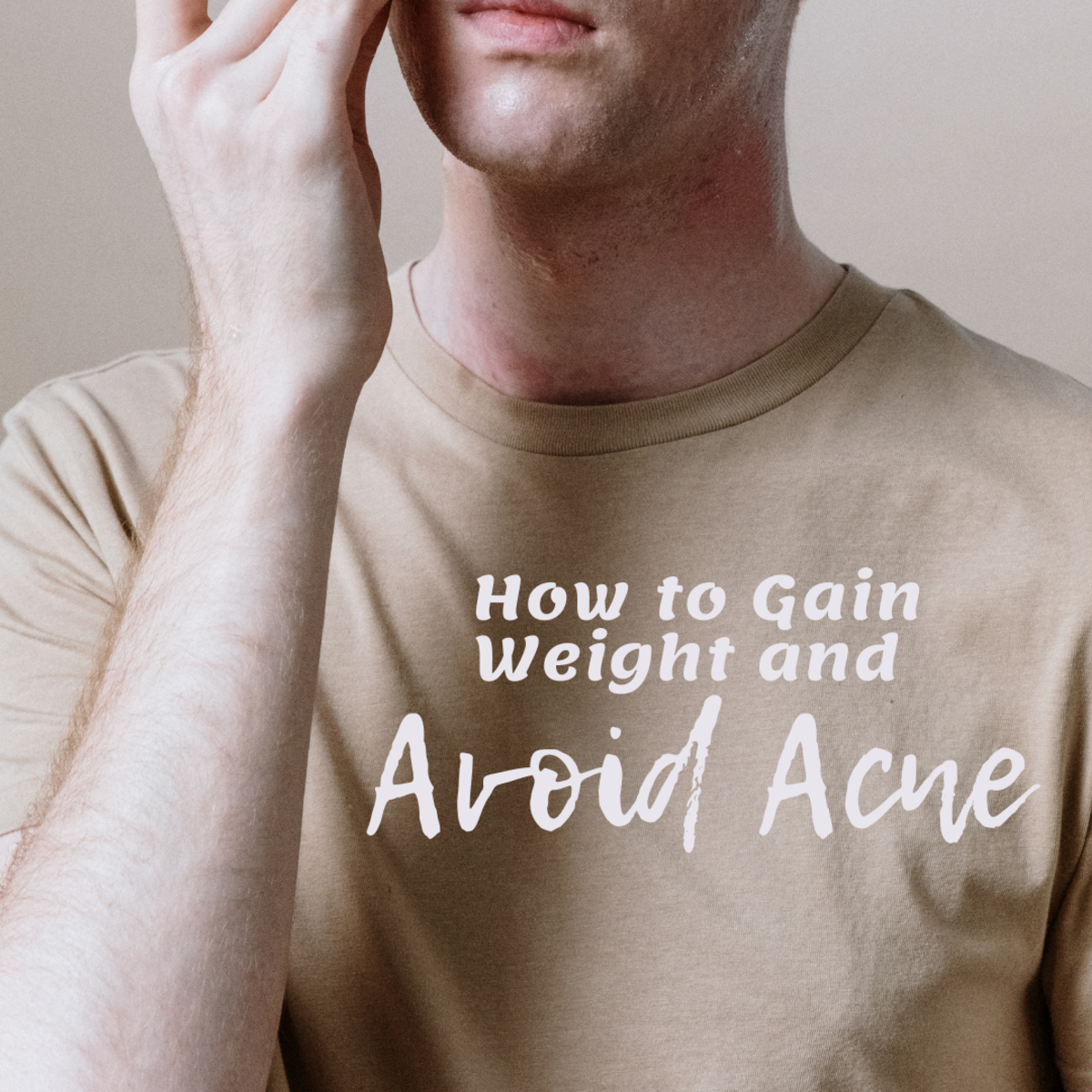 Learn tips for ectomorphs to gain weight without getting acne or exacerbating preexisting acne.