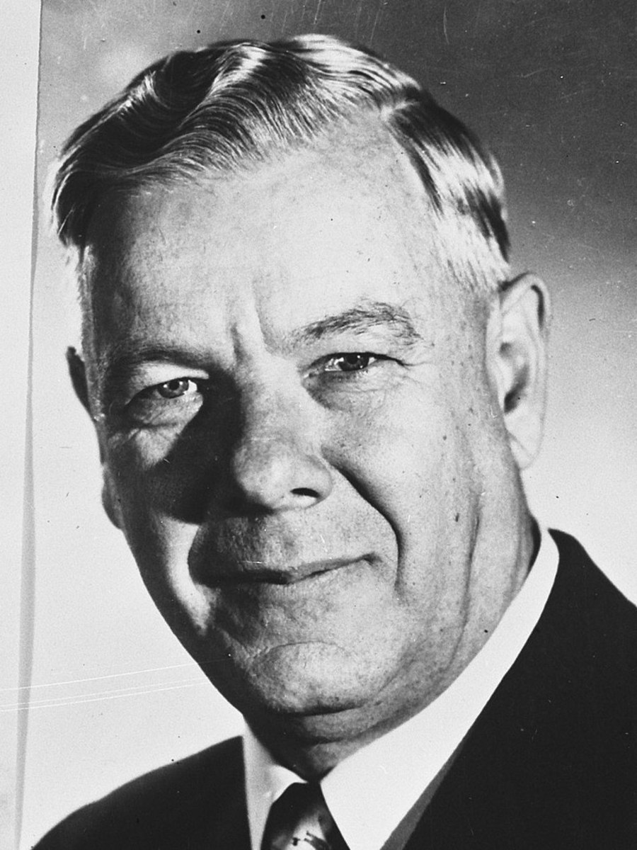 Dr. Hendrik Frensch Verwoerd, South African Prime Minister from 1958-66.