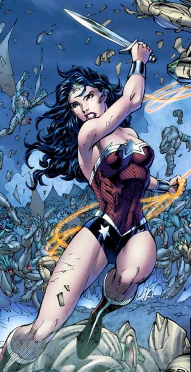 Wonder Woman New 52 Jim Lee