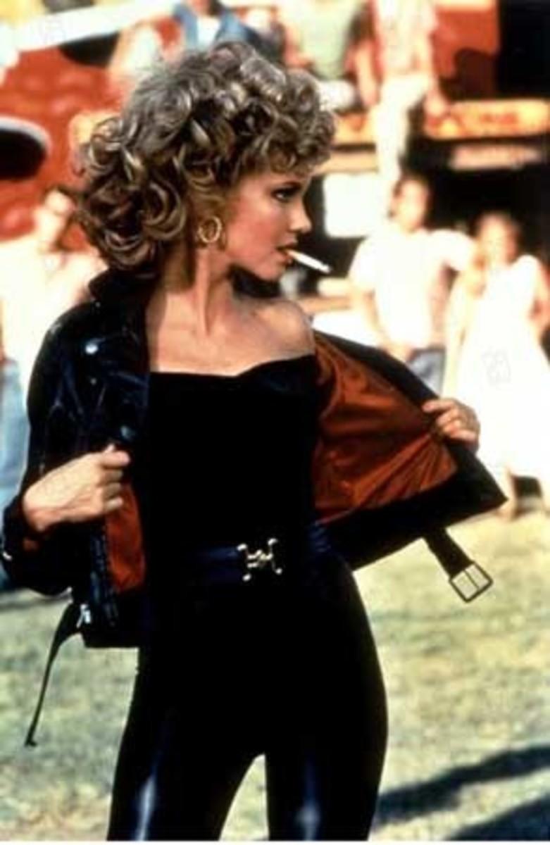 Olivia Newton-John as Sandy Olsson from Grease