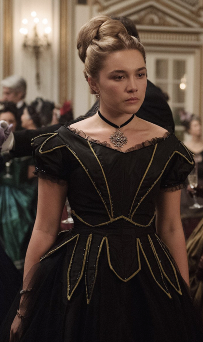 Florence Pugh as Amy March in Little Women (2019)