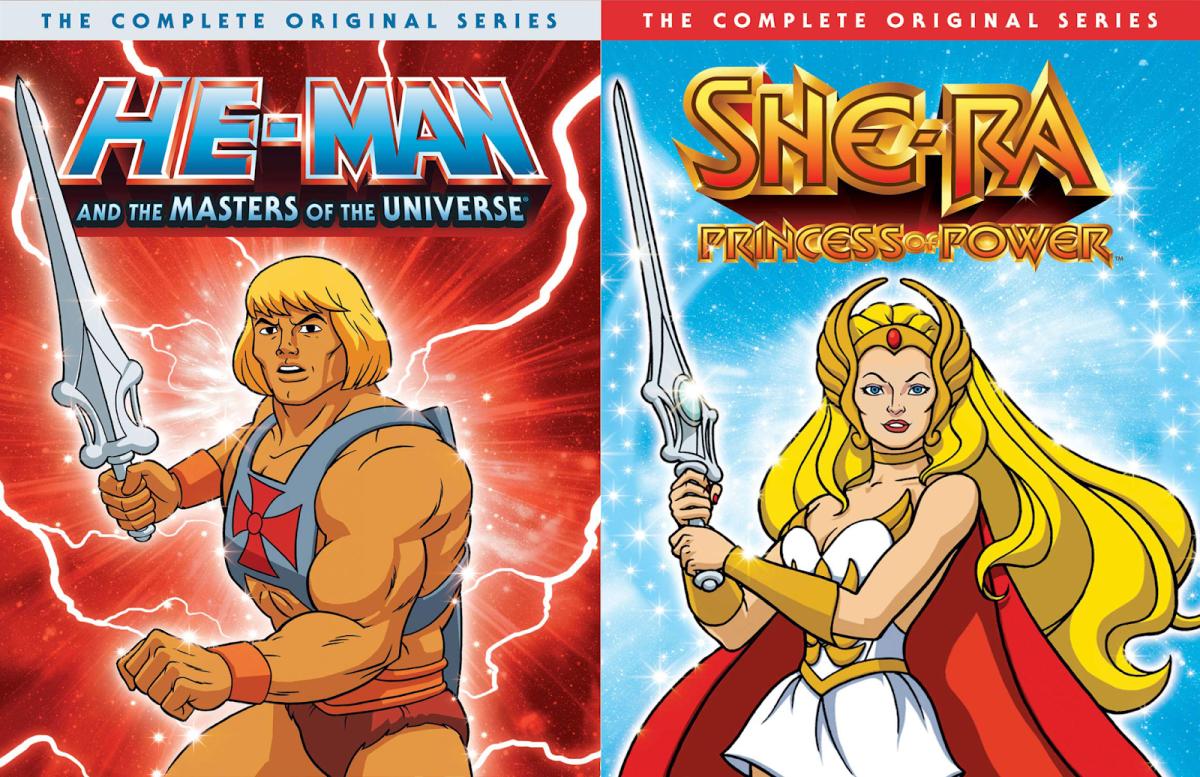 He-Man and She-RA