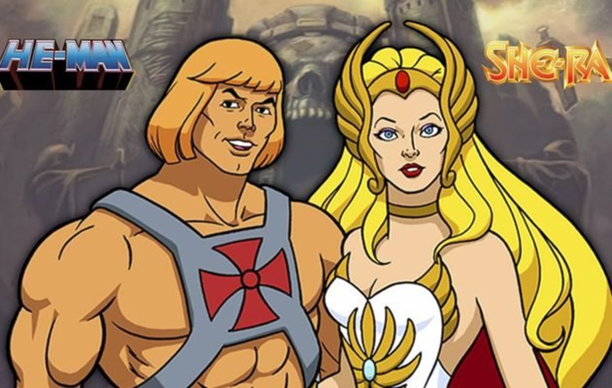 The power of the twins, He-Man and She-Ra.