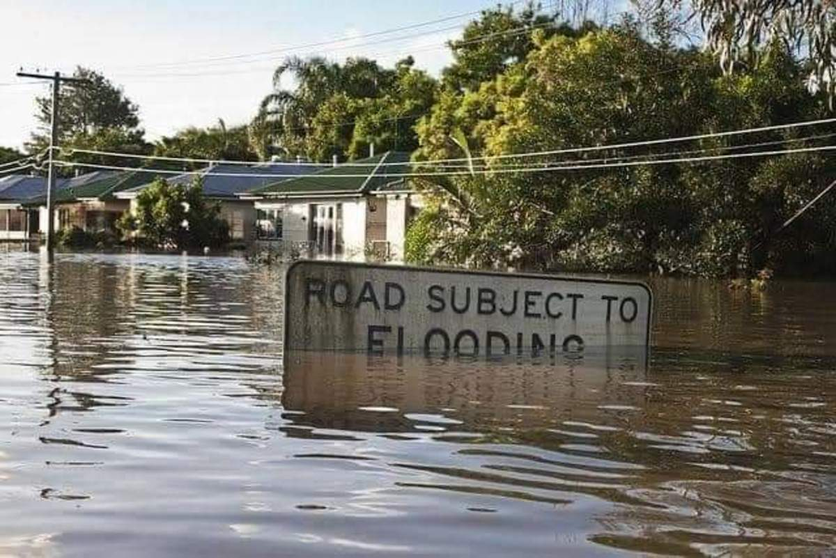 Flooding in Wyong