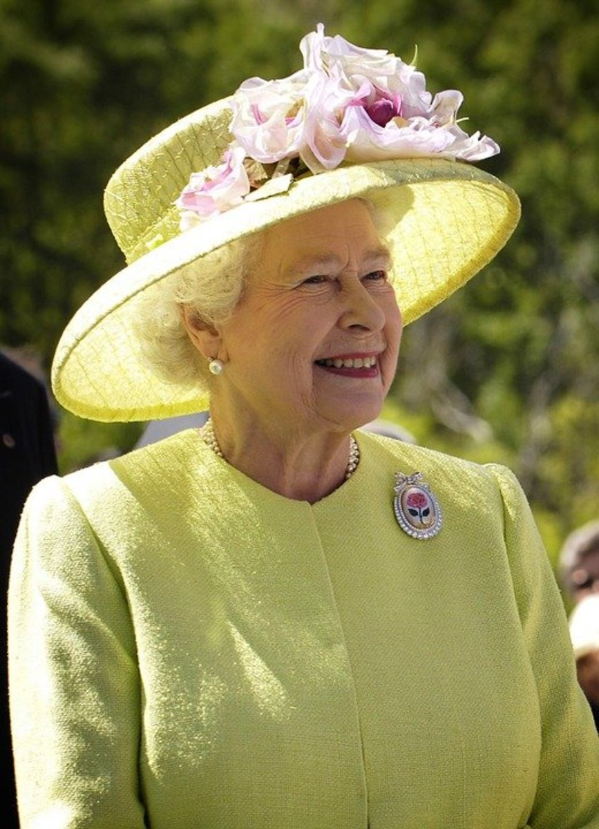Queen Elizabeth II, perhaps the world's most famous constitutional monarch.