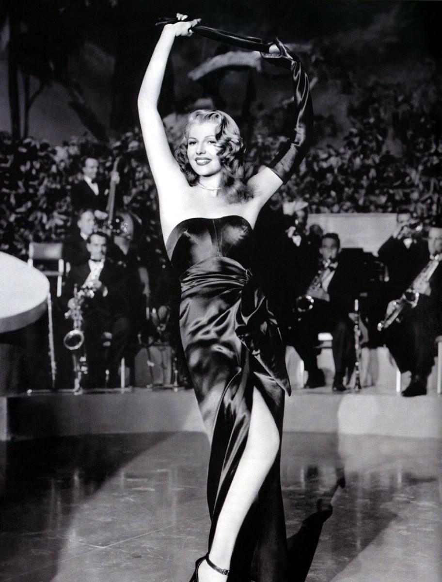 Rita Hayworth as Gilda from Gilda