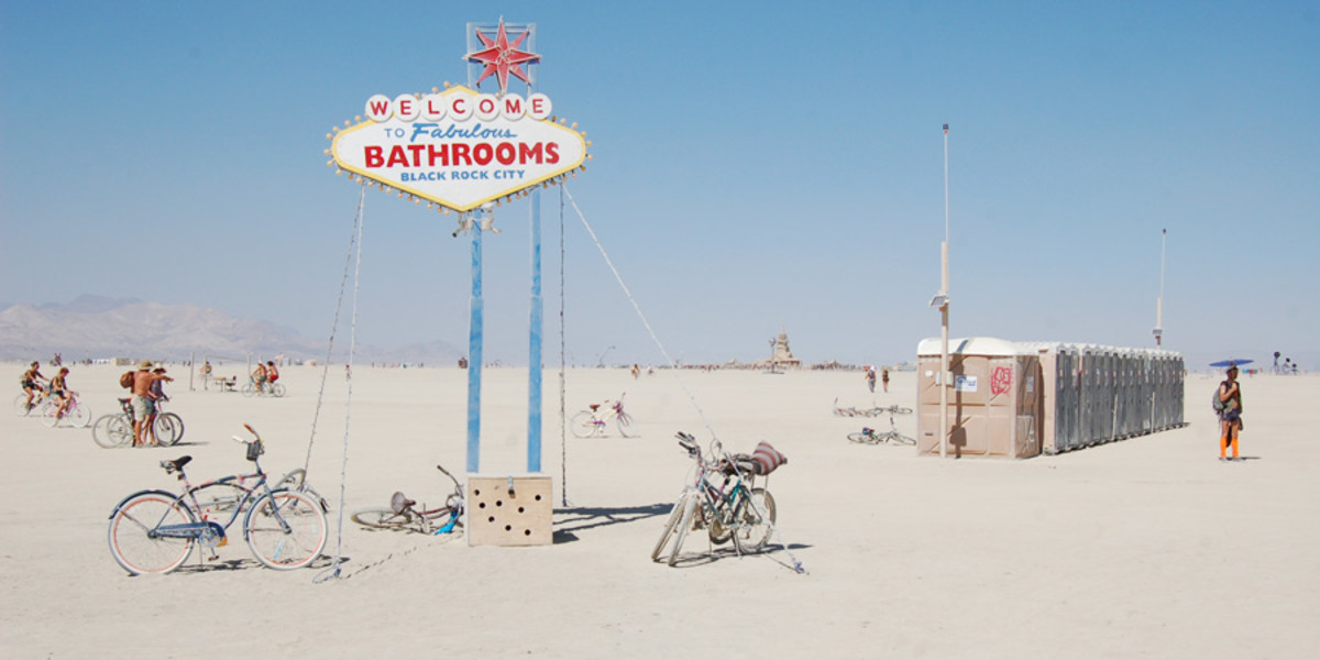 The Fabulous Black Rock City Bathrooms.