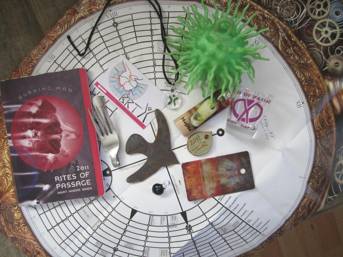 Assorted goodies from 2011 Burning Man : The Rites of Passage