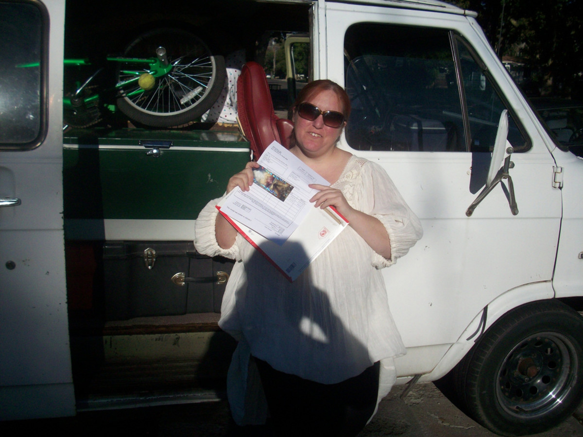 The van is packed, I have my Burning Man ticket, let's take a picture and get on the road.