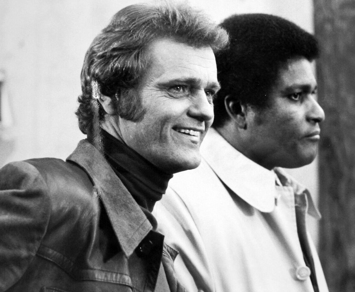 Jerry Reed with guest star Charlie Pride