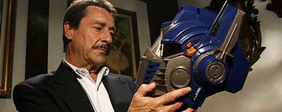 The original voice of Optimus Prime: Peter Cullen