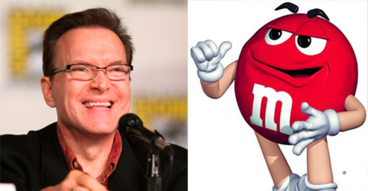 Billy West -- voice for the red M&M.