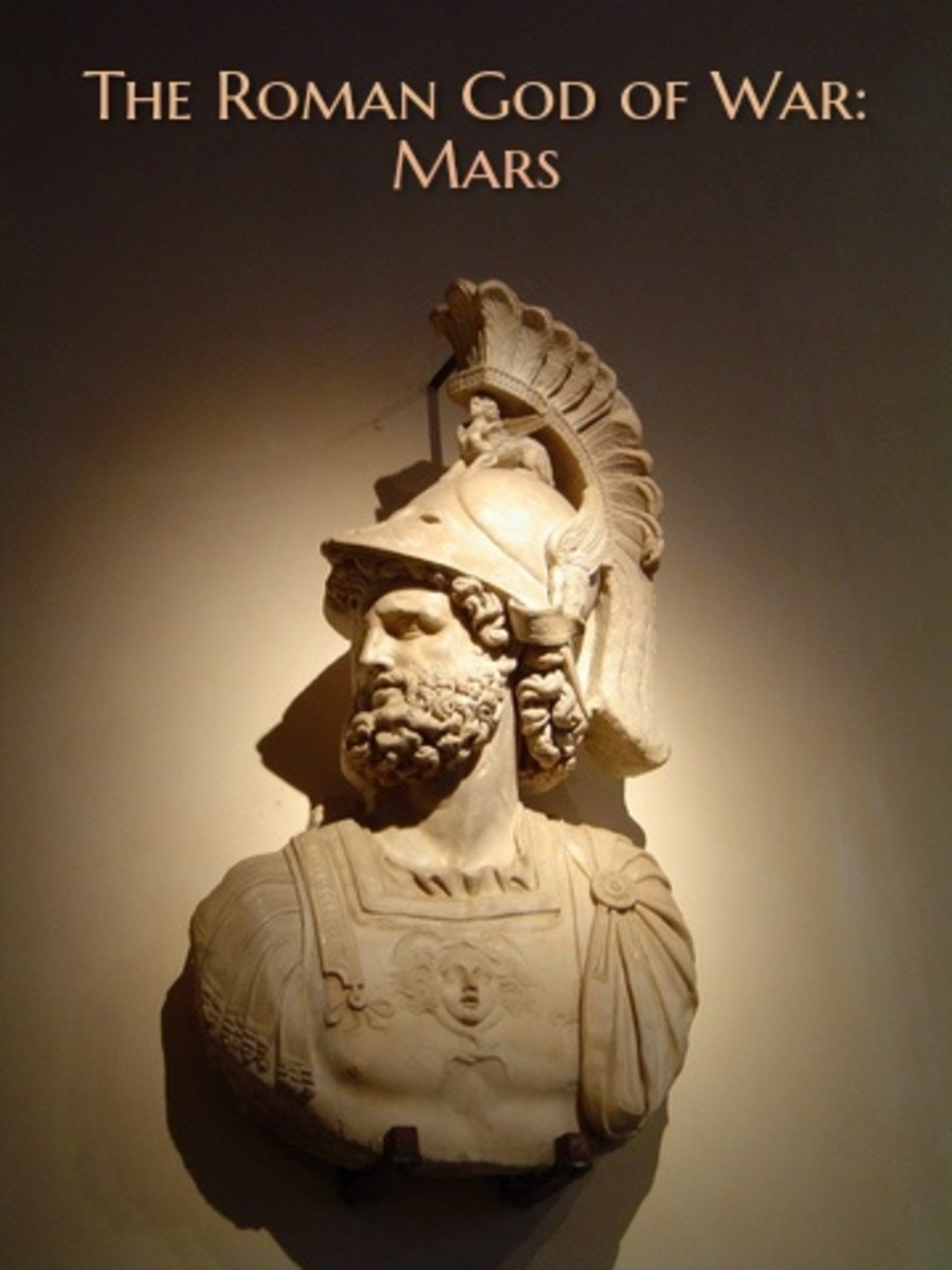 Mars is Ares in Greek mythology. Mars was celebrated with festivals in March and October. He was known as the god of war and a guardian of agriculture.